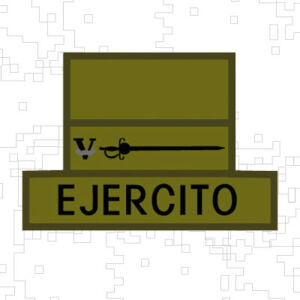 PERSIANA-TABLERO EJERCITO Y DISTINTIVO ADMINISTRATIVO LOGISTICO