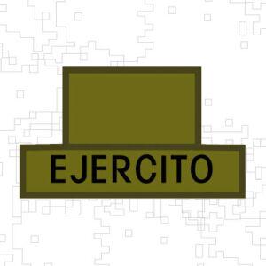 PERSIANA-TABLERO EJERCITO Y DISTINTIVO CUERPO LOGISTICO