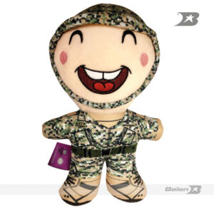 BABY SOLDIER HAPPY