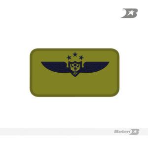 TARJETERO PILOTO 3 ESTRELLAS OVEROL 50X95 MM