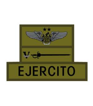 PERSIANA-TABLERO EJERCITO, CPV Y ALA DE AVIACION 2 ESTRELLAS