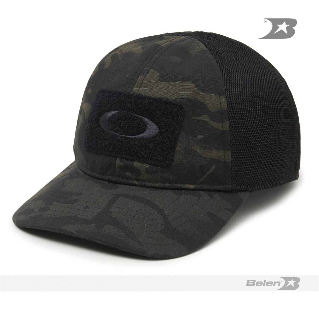 92eef147fd3b4 GORRA OAKLEY SI COTTON MC BLACK MULTICAM - Belén