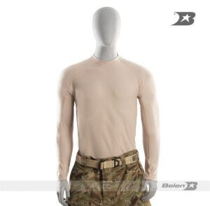 CAMISETA TACTICAL T-SHIRT TIPO F MANGA LARGA BEIGE
