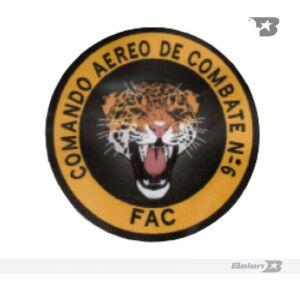 PARCHE COMANDO AÉREO DE COMBATE Nº 6 - CACOM 6