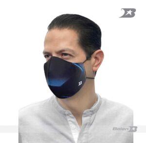 MASCARA PROTECTORA BLUE NEON