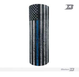 TH USA FLAG GREY BLUE