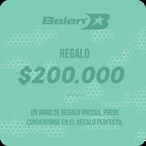 BONO DE REGALO VIRTUAL $200.000
